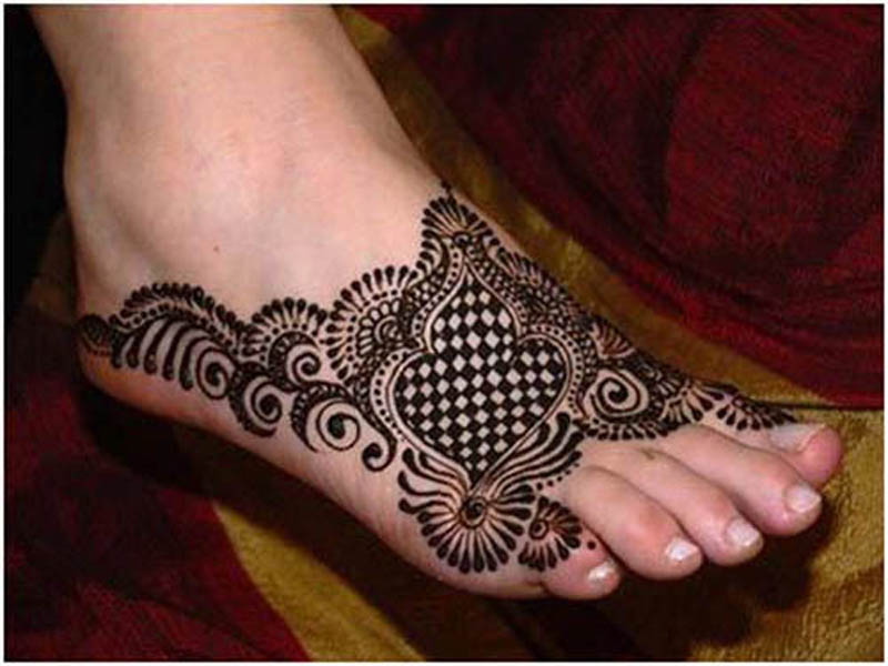 Cute Gujarati Mehndi Designs With Pictures