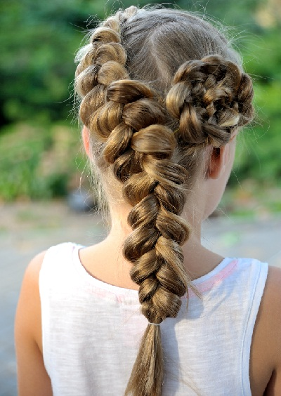 15 Cute and Easy French Braid Hairstyles You Need to Try   Styels At Life