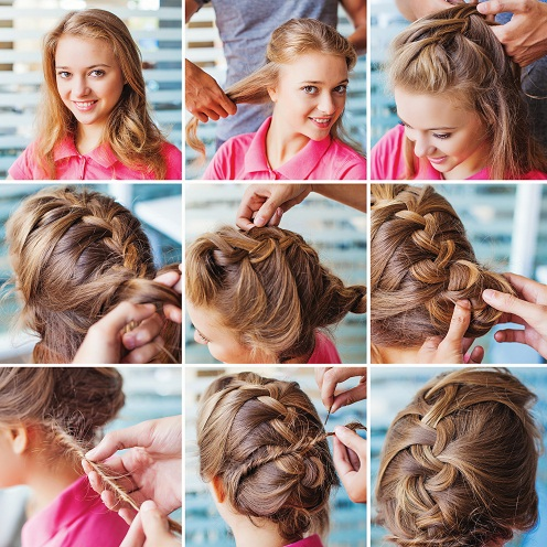 French Braid Knot