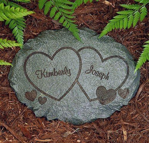 Garden Stone Valentine's Gift