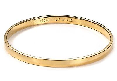 Gold Bangle Valentine's Gift