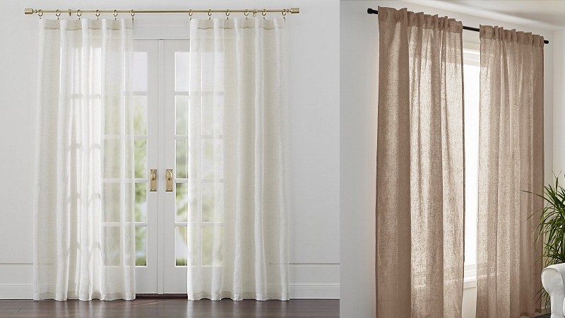 Greatest Linen Curtains for Home in Summer