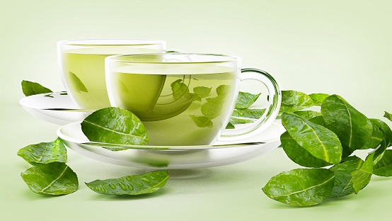 Green Tea for Hormonal Acne