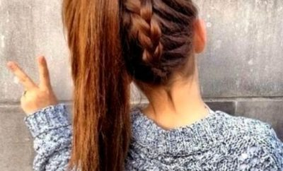 Hairstyles for long Hair for School