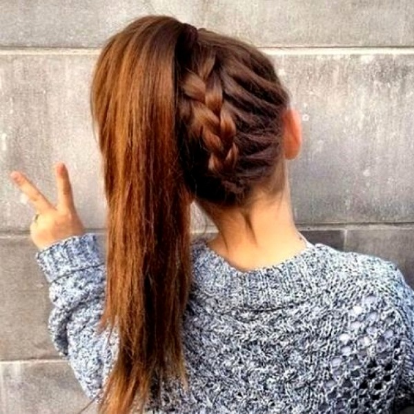 9 Best Hairstyles for long Hair for School | Styles At Life