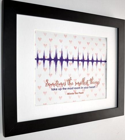 Heart Beat Frame Anniversary Gift