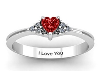 Heart Ring for Her