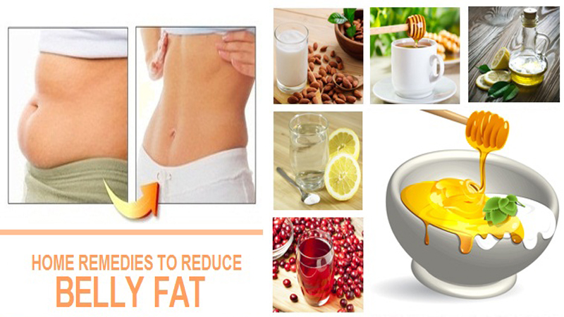 home remedies for reducing belly fat