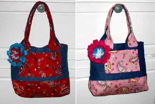 Homemade Hand Bags for Gifts