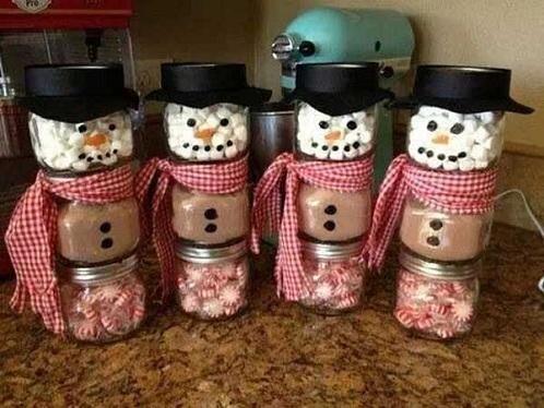 Hot Cocoa Snowmen