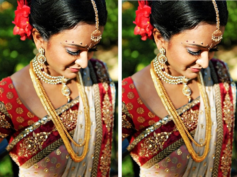 c0bad09655 6 Simple South Indian Bridal Makeup Tips One Should Know for D-Day