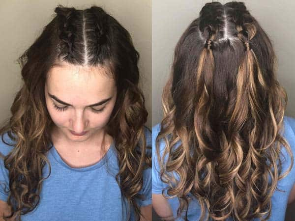 Indian Braided Hairstyles 9