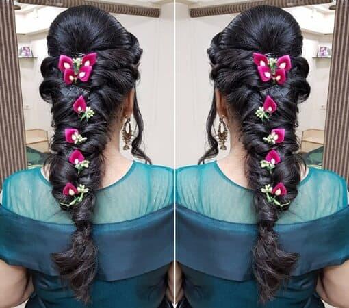Indian Braids Hairstyle