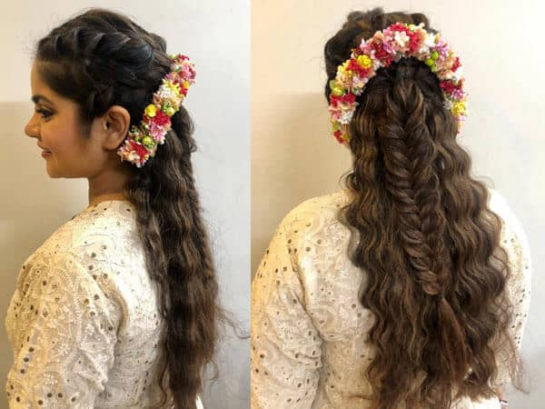 Fishtail Braid Leave over