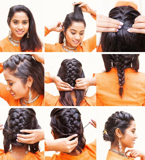 10 Trendy And Modern Indian Party Hairstyles For Women Styles At Life