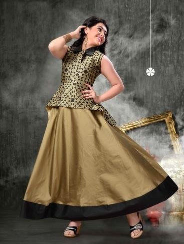 15 Stylish And Trendy Gown Frocks For Women And Kid Girl Styles At