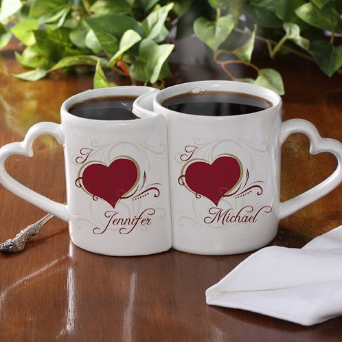 Joint Heart Cup For Wife