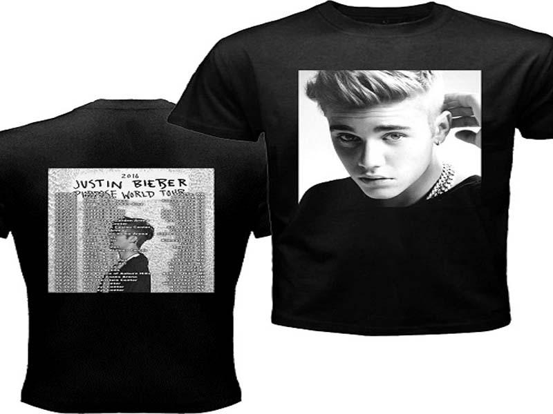 justin bieber t-shirts