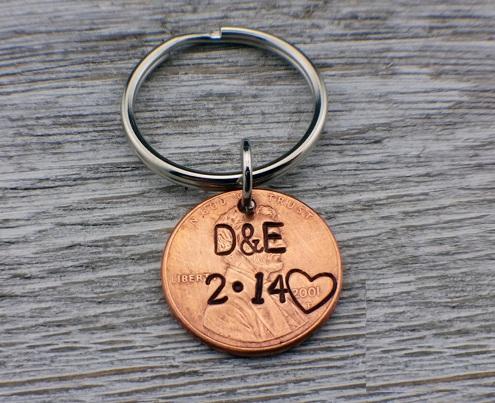 Key Chain Anniversary Gift