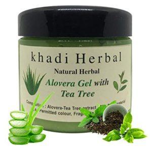 Khadi Natural Herbal Aloe Vera Gel With Tea Tree
