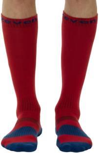 Knee Length Socks Red
