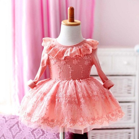 Frocks for 1 Year Baby Girl