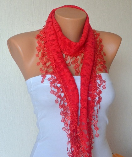 Lace Scarf for Her