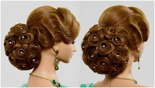 Rose Bouquet New Hairstyles