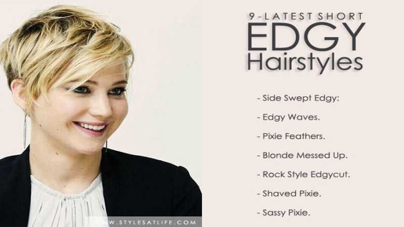 Latest Short Edgy Haircuts for Women