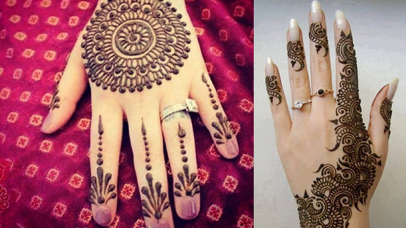 Latest and Popular Gol Tikka Mehndi Designs