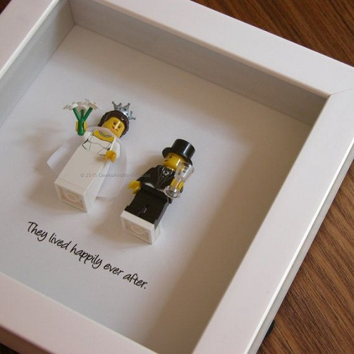 Lego Themed Gift