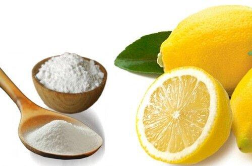 lemon and baking soda for dandruff