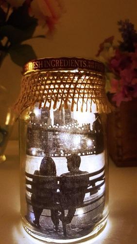 Light Jar Anniversary Gift