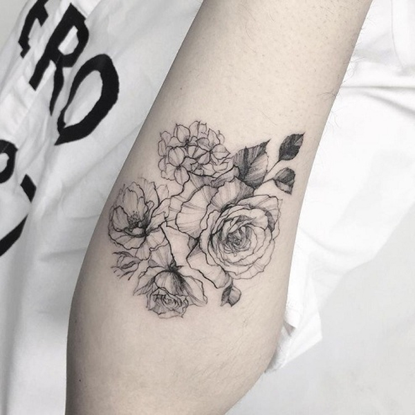 Line Work Tattoos
