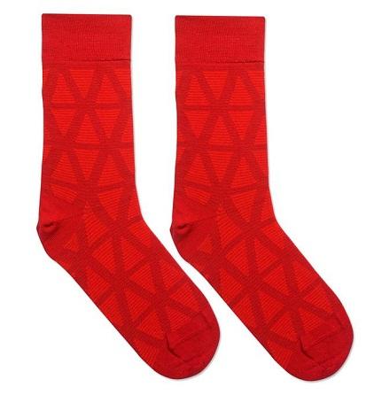 Lining Red Socks