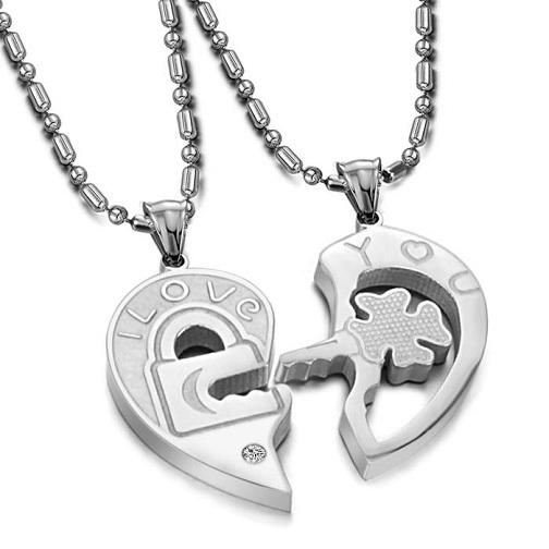 Lock and Key Couple Anniversary Gift