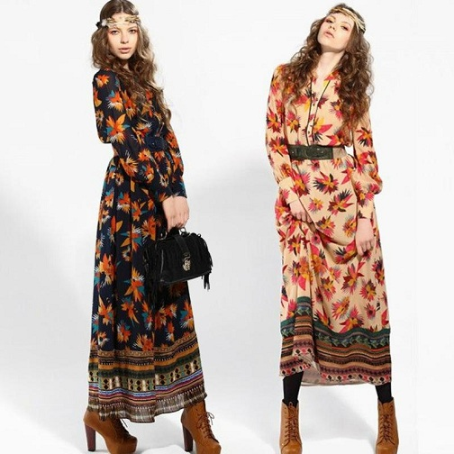 73902b0f15fd Bohemian style dress can also be called as the hippie style white summer  dress