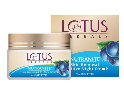 Lotus Herbals Nutranite Skin Renewal Nutritive Night Cream
