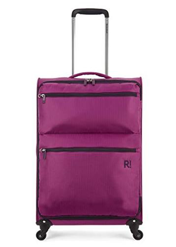 Magenta Medium Trolley Bag