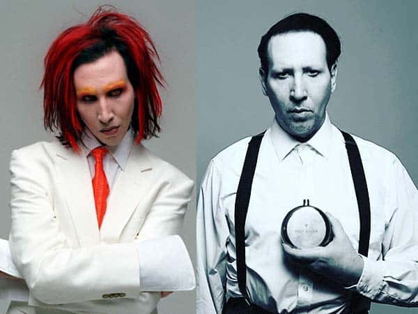 Marilyn Manson Makeup or No Makeup