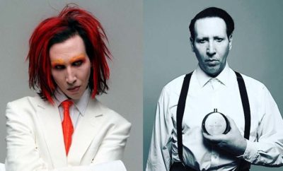 Marilyn Manson without Makup