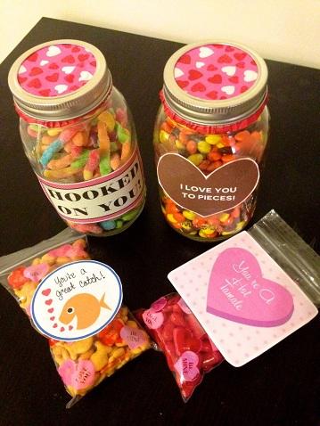 Mason Jar Valentine's Gift
