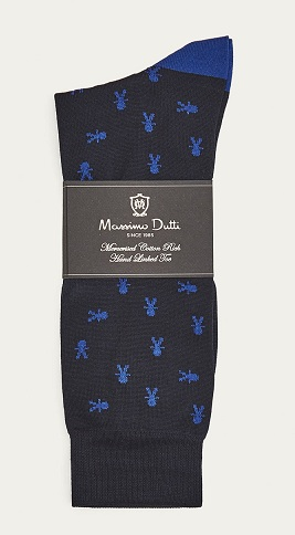 Massimo Dutti Mercerised Cotton Sock brands