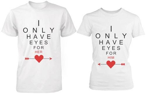 Matching T-Shirt Valentine's Gift