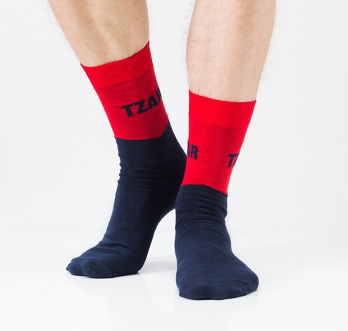 Multicolor Mens Socks