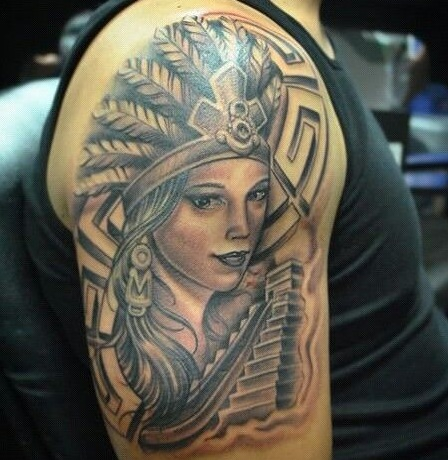 Top 15 Aztec Tattoo Designs With Meanings Styles At Life