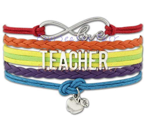 Multi-layer Charm Bracelet for Teacher´s Day
