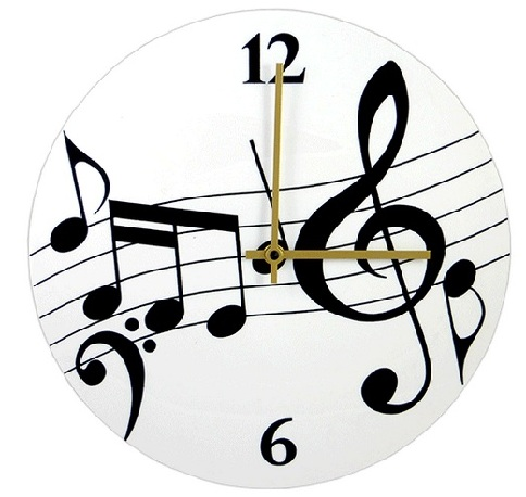 Music Notes Clock