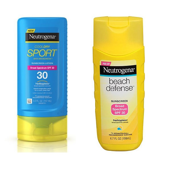neutrogena-sunscreens