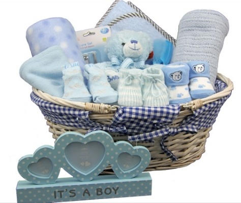 New Baby Basket